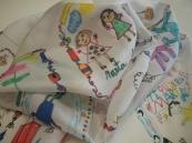 Pañuelos con dibujos de niños